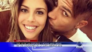 Top 10 de las esposas y novias más lindas de la Copa América Centenario