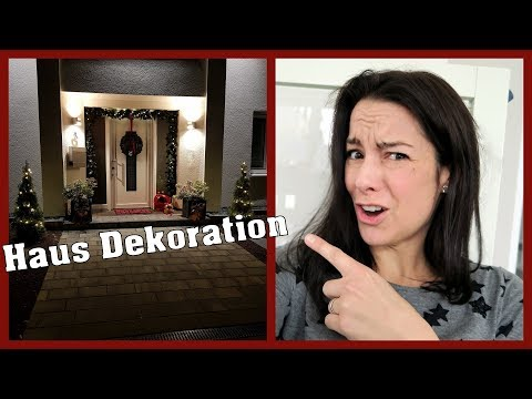 Haus Dekoration für Weihnachten | gabelschereblog