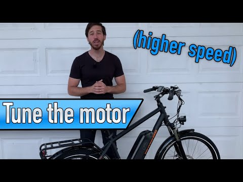 How to increase speed of a Rad Power Bike e-bike (DeRestrict!)