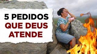 5 PEDIDOS DE ORAÇÃO QUE DEUS ATENDE! (O 4º é Muito Importante) - Pastor Antonio Junior