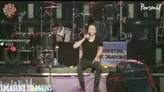 Song 2 (Blur Cover) - Imagine Dragons (Lollapalooza Argentina 2014)