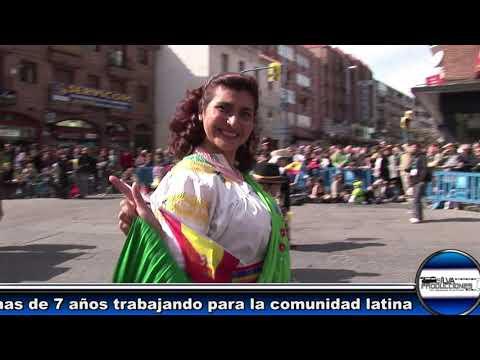 """Carnavales Leganés 2011 """"  Ecuador Presente. """" HD Silva Producciones"""