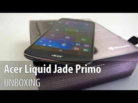 Acer Liquid Jade Primo Unboxing în Limba Română