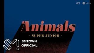 SUPER JUNIOR 슈퍼주니어 'Animals' Visual Pack