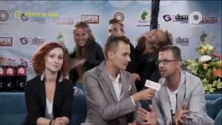 Paweł Sałdan - Backstage Disco Hit Festival Kobylnica 2013 - Wszystko mi disco
