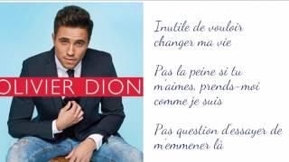 Au même endroit - Olivier Dion