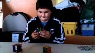 Amazing Antonio Stephen with cubes
