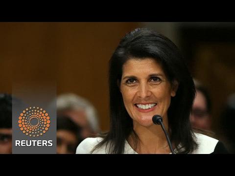 Senate confirms South Carolina Gov. Haley as U.S. Ambassador to U.N.