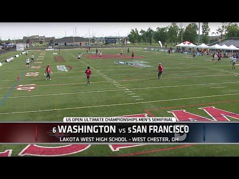 Video Thumbnail: 2015 U.S. Open Club Championships, Men's Semifinal: San Francisco Revolver vs. Washington D.C. Truck Stop