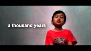 "A Thousand Years"" - Christina Perri Cover - Denting S Merdu"
