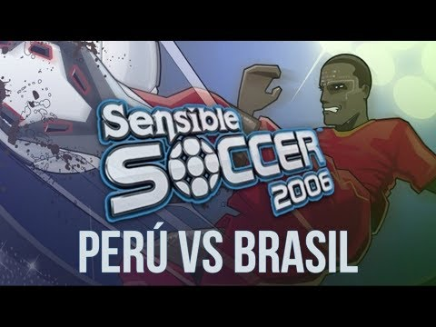 Sensible Soccer 2006 (2006) - PlayStation 2 - Perú vs Brasil