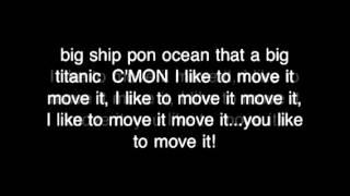I like to move it move it   lyrics