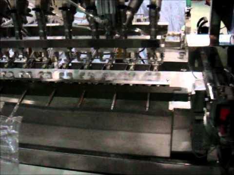Yarı Otomatik Serum Poşet Dolum Makinası