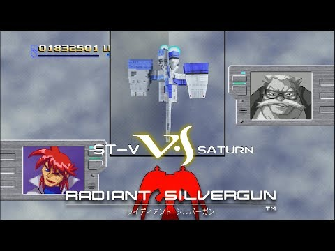RetroArch · Sega Saturn KRONOS - STV vs SATURN - Radiant Silvergun