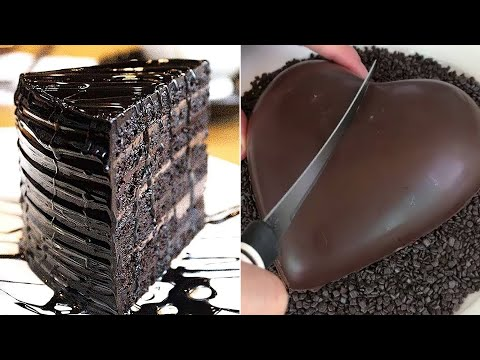 Try Not To Get Hungry    Amazing DIY Chocolate Cakes Dessert Treats for Everyday