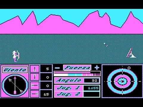 Tiro con Arco (Ediciones Manali) (MS-DOS) [1990]