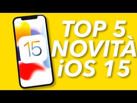 5 Novità TOP di iOS 15 provate sul mio  …
