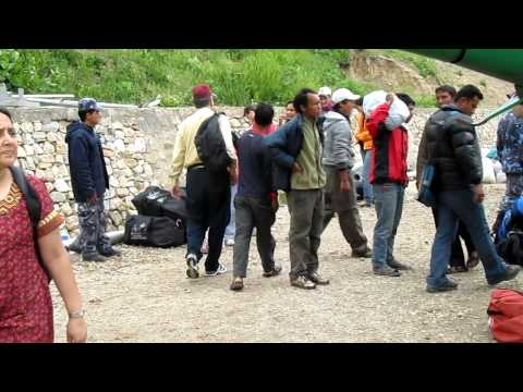 Simikot airport in Nepal -1