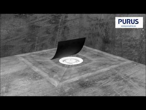 Installationsvideo för Purus Square i träbjälklag