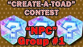 "Epic Paper Mario Contest: ""NPC"" Group #1"