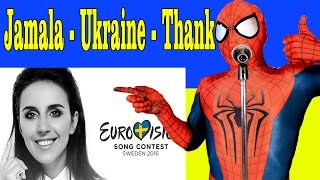 Jamala 1944 Eurovision – Ukraine 2016 | Superheroes fans of the singer | Comics parody
