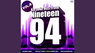 Seven Seconds (In the Style of Youssou N'dour, Neneh Cherry) (Karaoke Version)