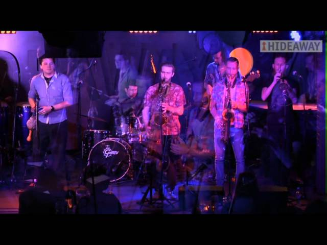 London Afrobeat Collective en directo en