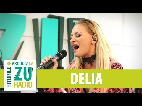 Delia - Love On The Brain (Rihanna) (Live la Radio ZU)