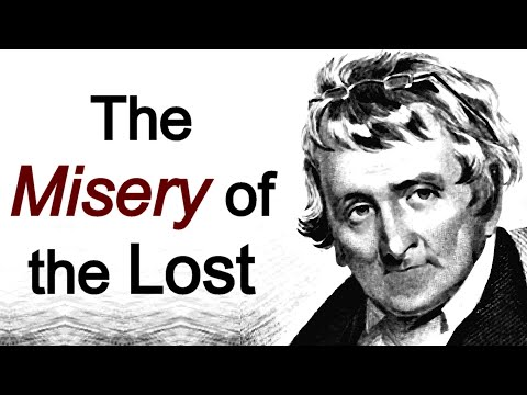 The Misery of the Lost - Archibald Alexander