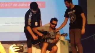 Mystery Guitar Man e Cid na Campus Party Recife 2014