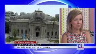 María Esther Álvarez nos habla de Chile como destino turístico