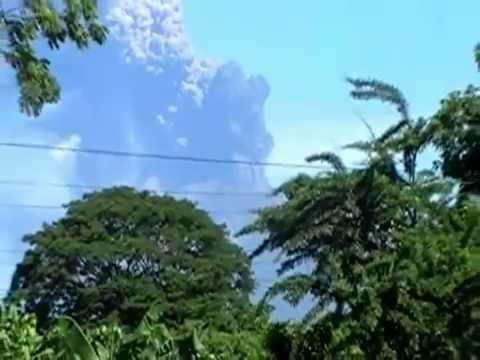 Erupción Pliniana Volcán San Cristóbal, Nicaragua