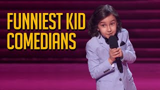 FUNNIEST Kid Comedians on Got Talent Will Make You LOL🤣