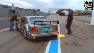 Mercedes C-Class V6 DTM Amob Racing Test (Pure Sound) HD