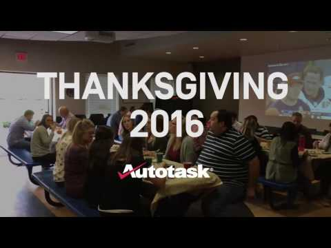 Happy Thanksgiving from Autotask