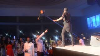 Wizkid Live at Olamide Concert Nigeria Dec 2014
