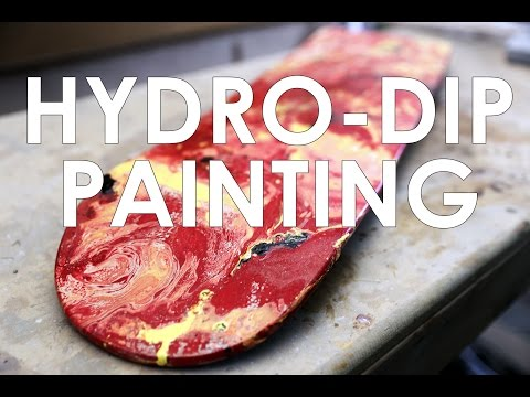 Hydro Dip Painting