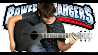 Power Rangers Theme [Fingerstyle Guitar Cover by Eddie van der Meer]