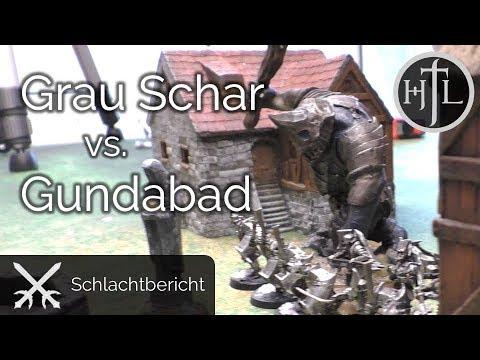 Battlereport - Graue Schar vs. Azogs Legion (Mittelerde Tabletop / Hobbit / Herr der Ringe / HdR)