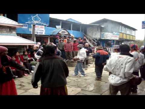 Lucie's trek in Nepal