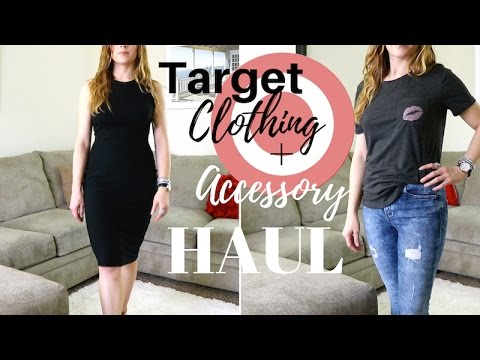 Try on HAUL | Target Clothing & Accessories!!