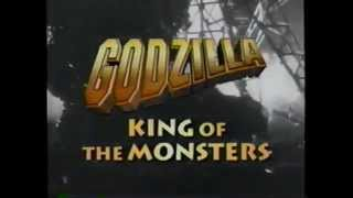 Godzilla – King of the Monsters (1956) Trailer (VHS Capture)