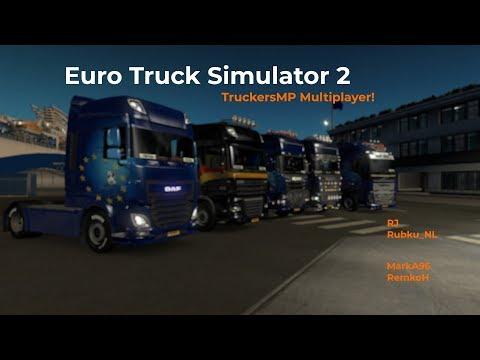 Euro Truck Simulator 2 TruckersMP Opname 28092017
