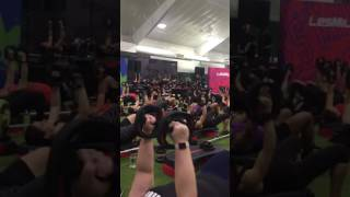 BodyPump 102 chest track New York Super Q 4/29/17