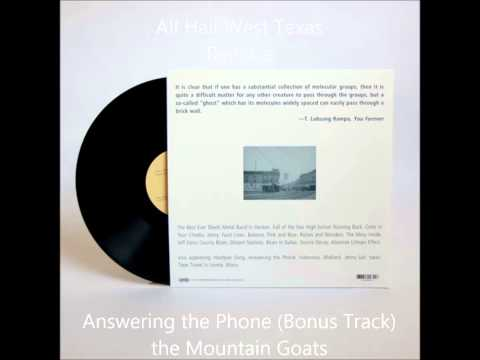 Answering The Phone All Hail West Texas Reissue The Mountain