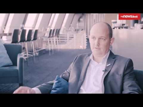 Intervju med Joachim Westher Andersen, kommunikasjonssjef på Oslo Lufthavn