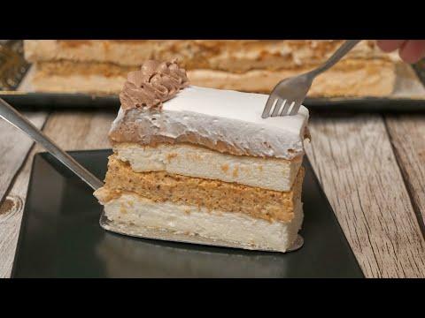 Torta Španski vetar / Meringue cake Spanish wind (ENG SUB)