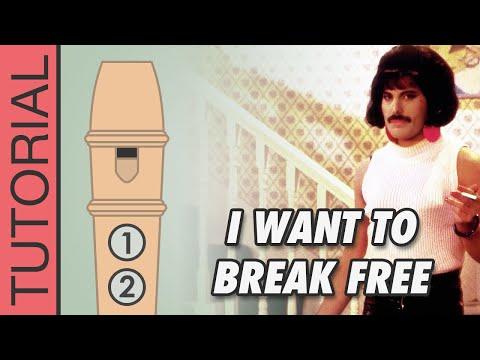 Comment jouer I Want to Break Free (Queen) à la flûte