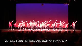 2018.1.28 SUN REP ALLSTARS @OMIYA SONIC CITY