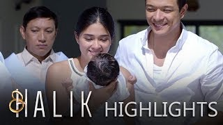 Jade attends to baby CJ's christening with Lino's family | Halik (With Eng Subs)